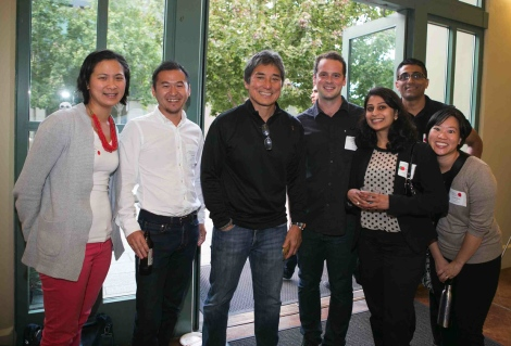 Guy Kawasaki and Haas students